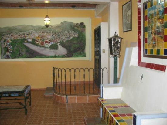 Casa Zuniga B&B: map of villiage