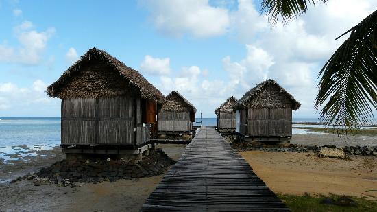 Lakana Hôtel : Bungalows sur pilotis