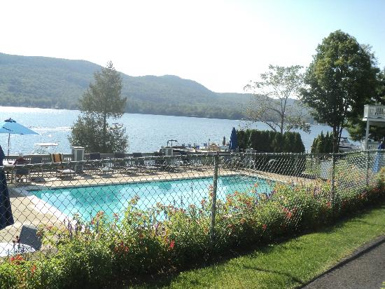The Quarters at Lake George: view of the pool