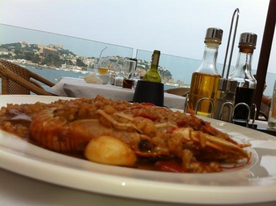 El Dorado Mar : Vistas y arroz