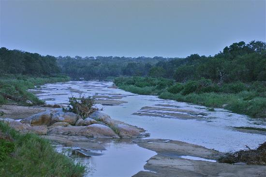 Ulusaba Private Game Lodge: The river in all it's glory