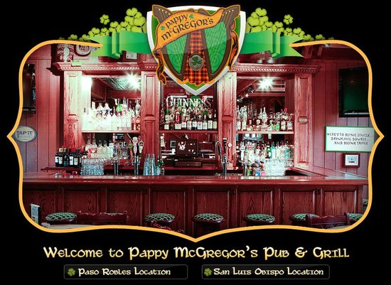 Pappy McGregor's Pub & Grill - San Luis Obispo