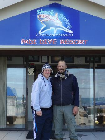 Shark Diving Unlimited: Me and Michael