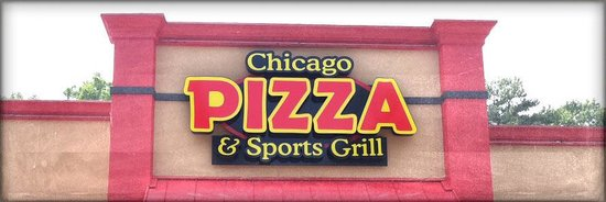 Chicago Pizza & Sports Grille: Old Front sign