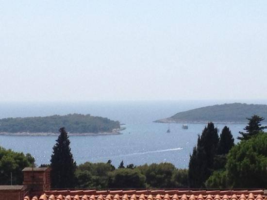 Violeta Hvar: View from terrace