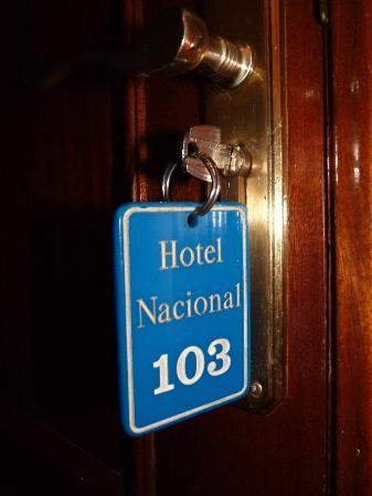 Hotel Nacional Melilla: Mi habitación