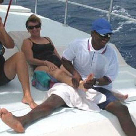 Jamaica Water Sports: Relaxing on Freestyle