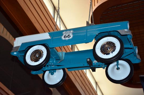 Route 66 Hotel And Conference Center: Route 66 car