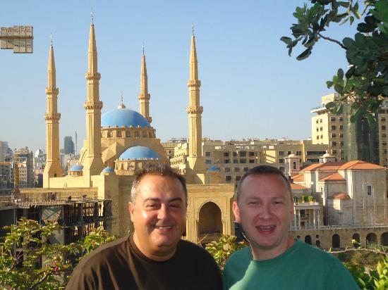 Le Gray Beirut: Terraza de desayuno