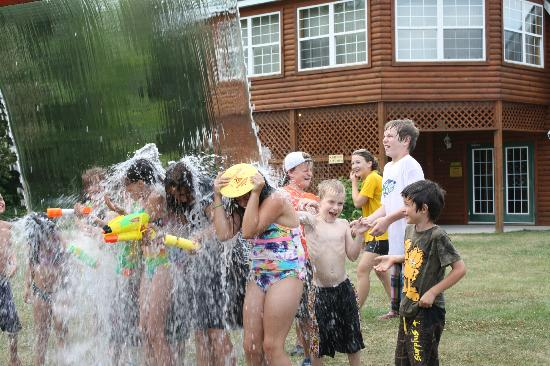 Toronto North Cookstown KOA: Very wet water weekend!