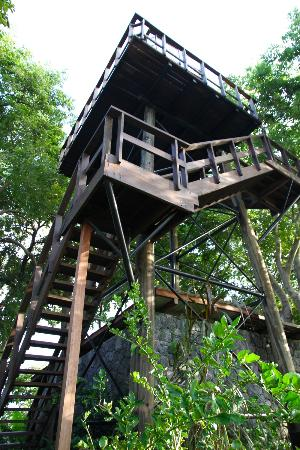 Jicaro Island Ecolodge Granada: observation tower