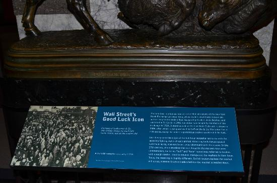 Museum of American Finance: Wall Street's good luck description