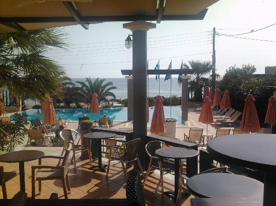 Anassa Hotel: view from the bar