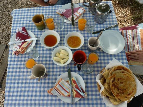 Gite Dayet Aoua : La cena