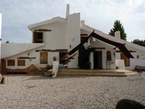 Gite Dayet Aoua : Vista frontal del acceso a la casa