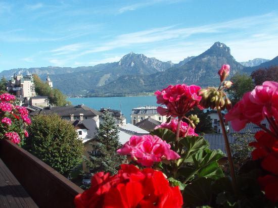 Hotel Furian am Wolfgangsee: Balcony View