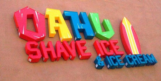 Oahu Shave Ice and Ice Cream