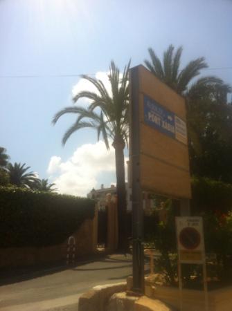 Port Xabia: entrada