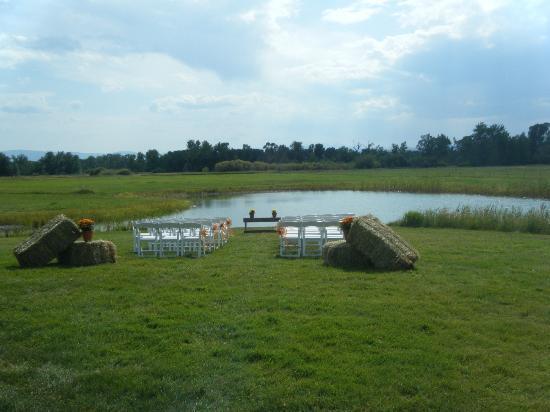 Gallatin River Lodge: Wedding Ceremony, before wedding
