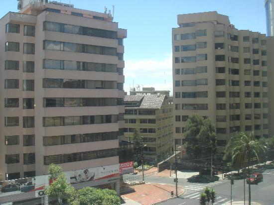 Swissotel Quito: view