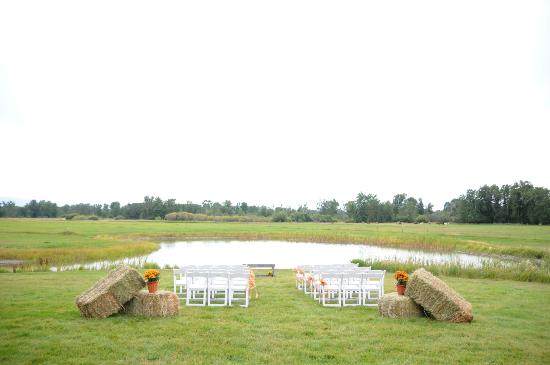 Gallatin River Lodge : Ceremony Site