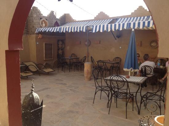 Restaurant Cafe Fatima: terraza