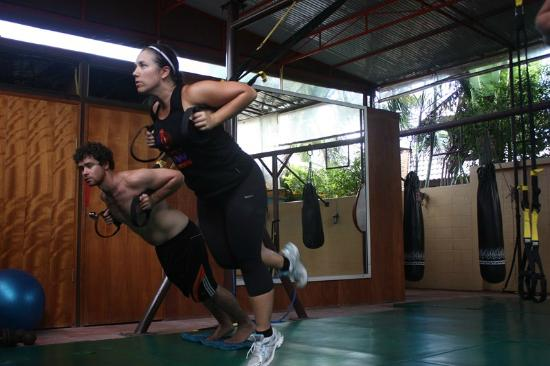 Phuket Cleanse Villa: TRX training