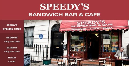 Speedy's Sandwich Bar & Cafe