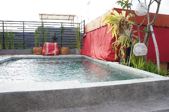 Jocs Boutique Hotel & Spa: Rooftop mini pool