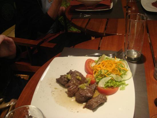 Entenza Restaurant: food