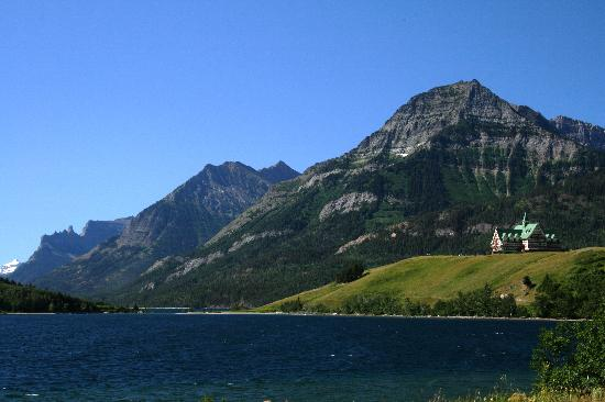 Upper Waterton Lake : waterton lake.1