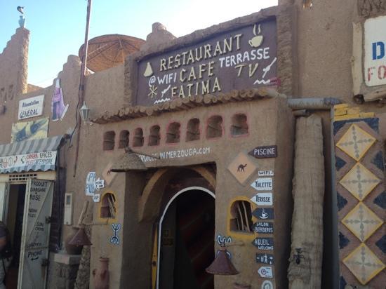 Restaurant Cafe Fatima: entrada