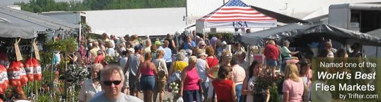 Shipshewana Auction & Flea Market: Crowds at Shipshewana Flea Market