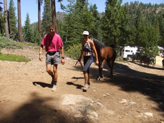 Granite Chief : in the woods above Squaw Valley
