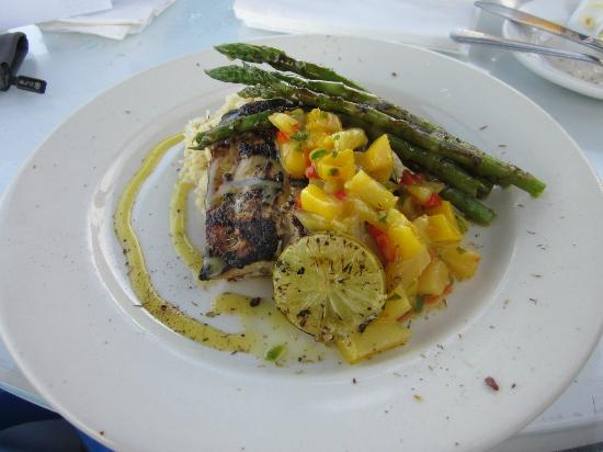 Inlet Cafe: Caribbean Jerk Mahi