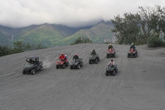 Alaska Backcountry Adventure Tours: Riding on the river