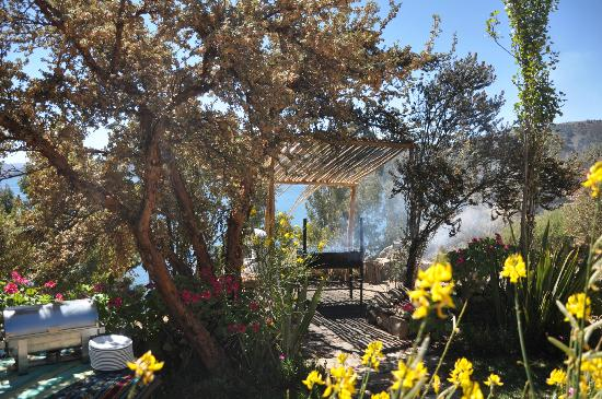Isla Suasi Hotel: Barbecue