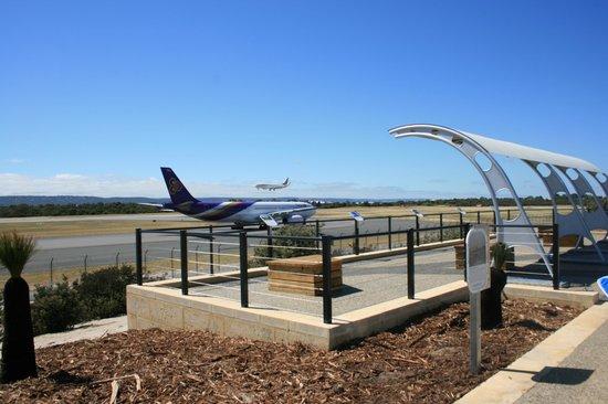 Outdoor Airport Viewing Platform