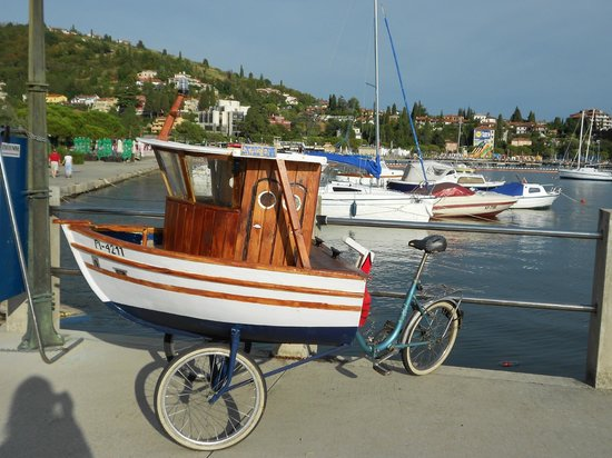 Portoroz, Slovenia: coolest bike I've ever seen