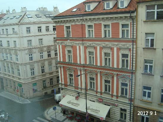 Novotel Praha Wenceslas Square: View from room