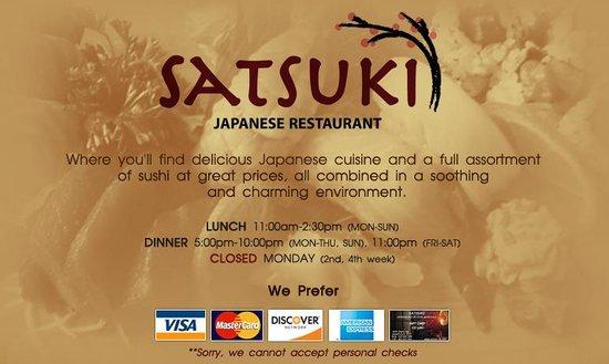 Satsuki Japanese Restaurant