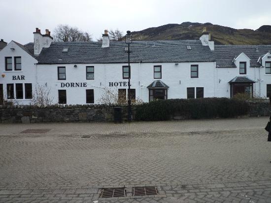Dornie Hotel: la facciata