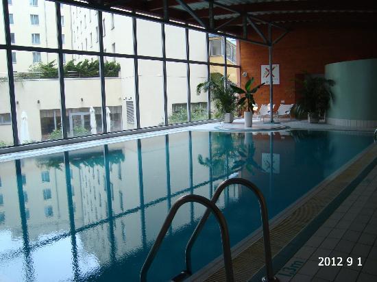 Novotel Praha Wenceslas Square: Pool