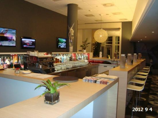 Novotel Praha Wenceslas Square: Hotel Bar