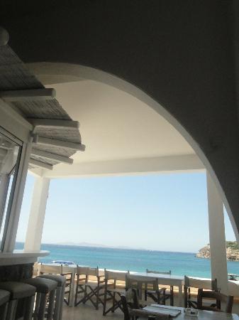 Artemis Hotel: Portico colazione 