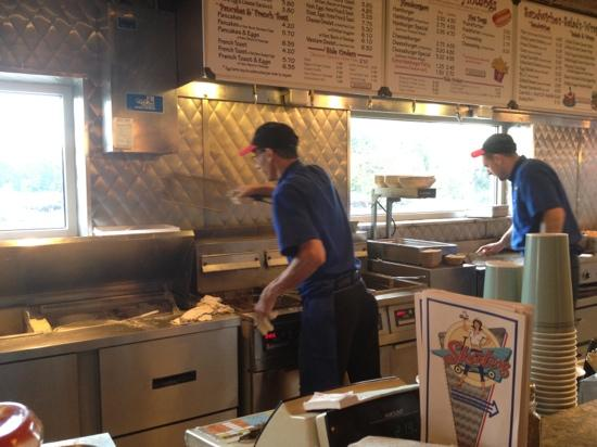 Skooters Restaurant Incorporated: two cooks get the job (well) done.