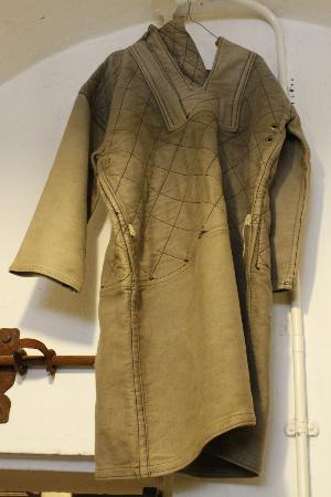 victorian female straight jacket - Picture of Littledean Jail ...