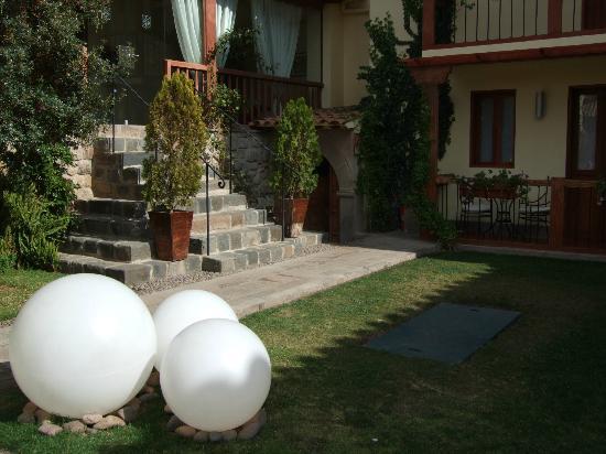 Casa Cartagena Boutique Hotel & Spa: View of hotel patio