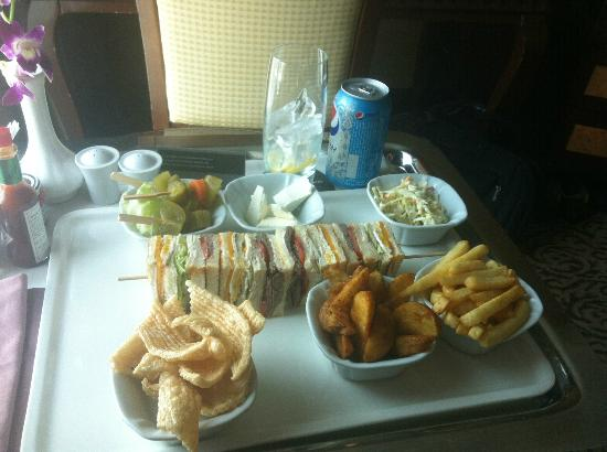 Wyndham Grand Regency Doha: Best Club Sandwich ever??