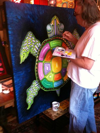 Jamie Hayes Gallery: Turtle painting, prints are now available!
